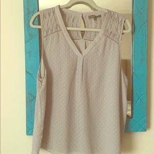 Brixon Ivy Light Grey Back Detail Top